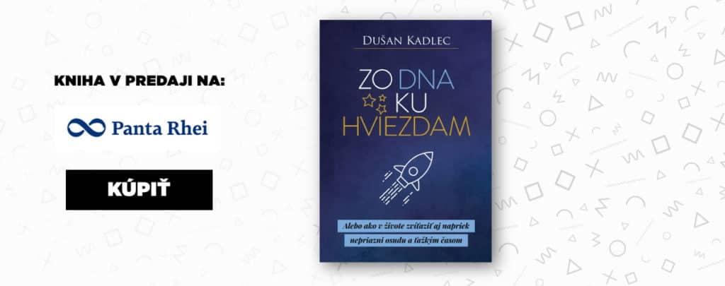 Inšpiratívna motivačná kniha Zo dna ku hviezdam