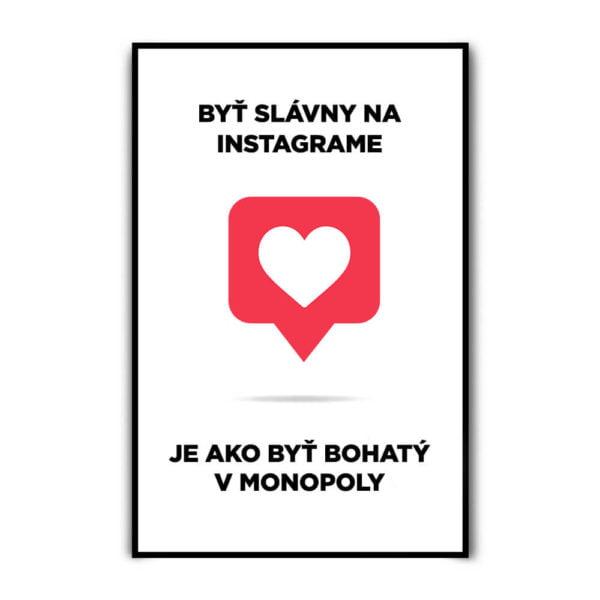 Motivačný plagát - Instagram