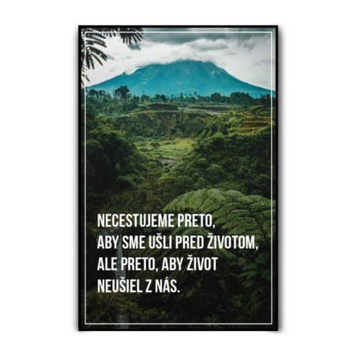 Motivačný plagát - Cestovanie