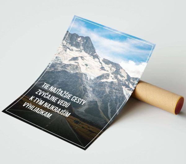 Motivačný plagát Cesty - náhľad 2