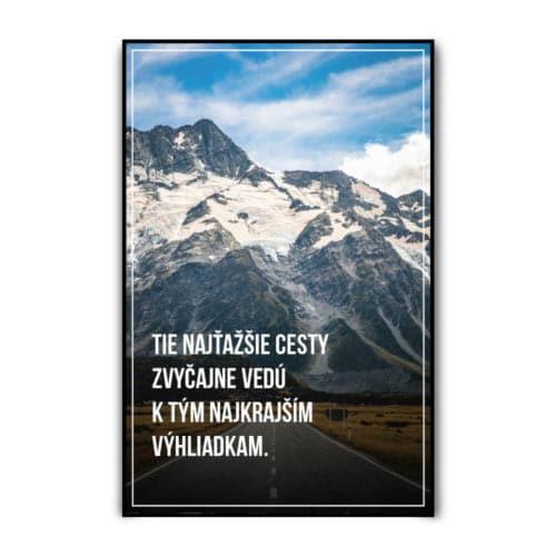 """Motivačný plagát """"Cesty"""""""