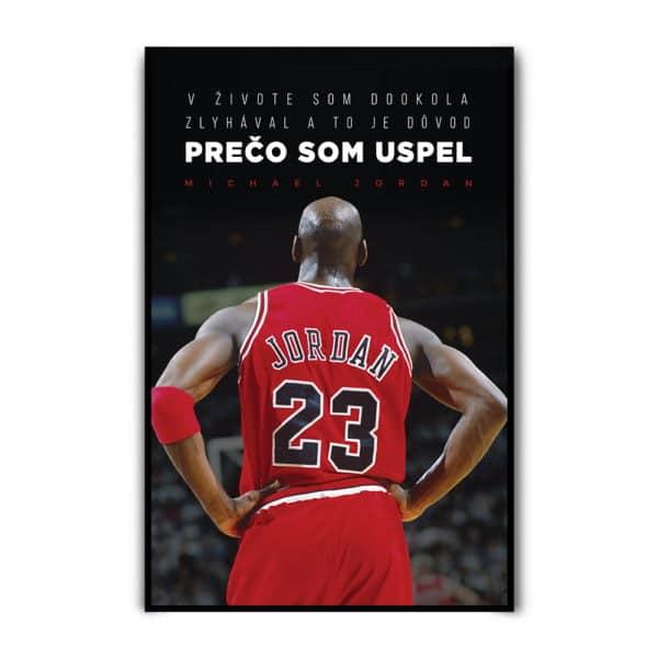 Motivačný plagát Michael Jordan s citátom legendárneho basketbalistu