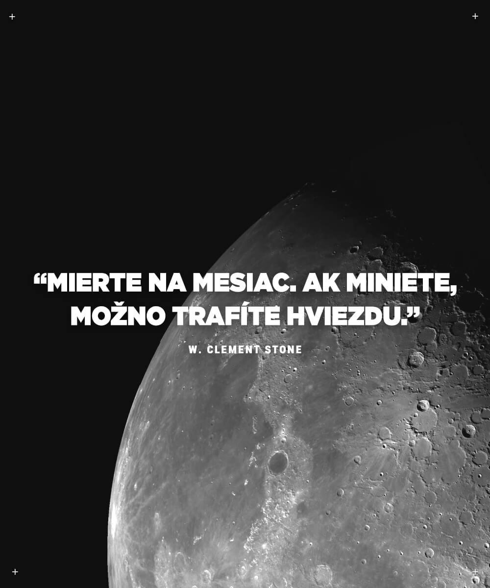 Najlepšie motivačné citáty - W. Clement Stone
