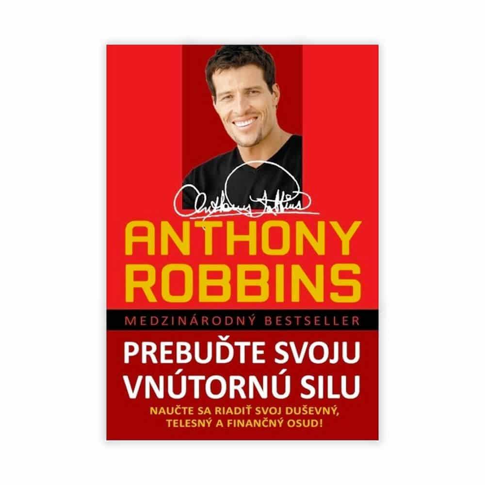 Hľadáš najlepšie motivačné knihy? Rozšír svoju zbierku knihou od Anthonyho Robbinsa
