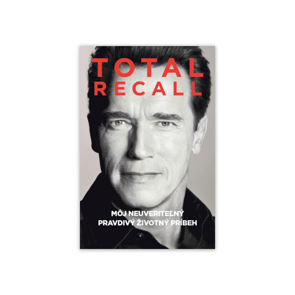 Medzi najlepšie motivačné knihy patrí aj autobiografia Arnolda Schwarzeneggera - Total Recall