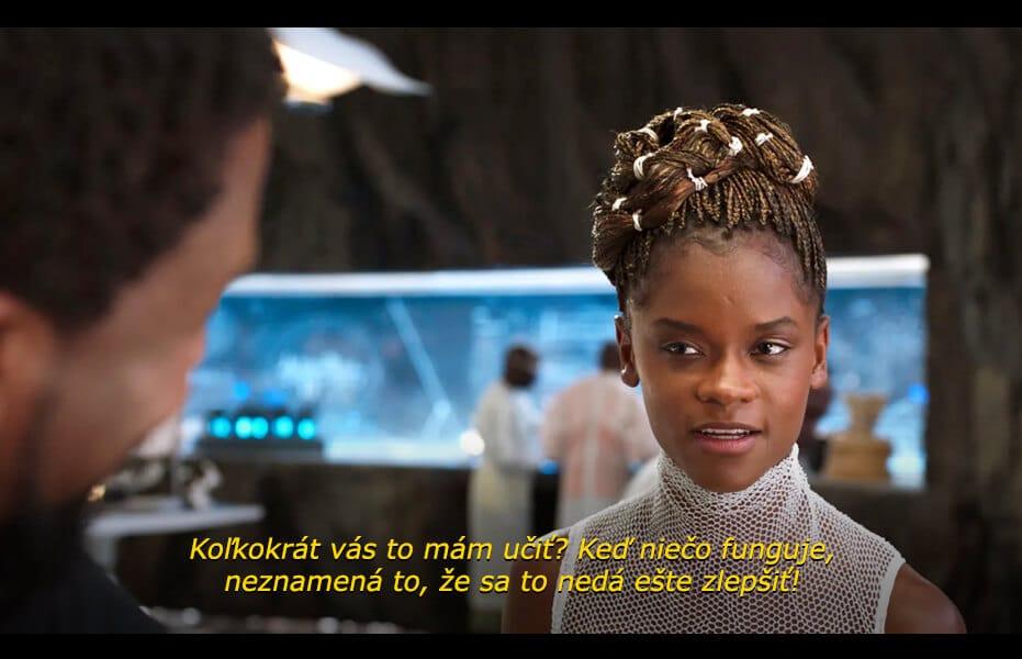 Citáty z filmu - Shuri (Black Panther)