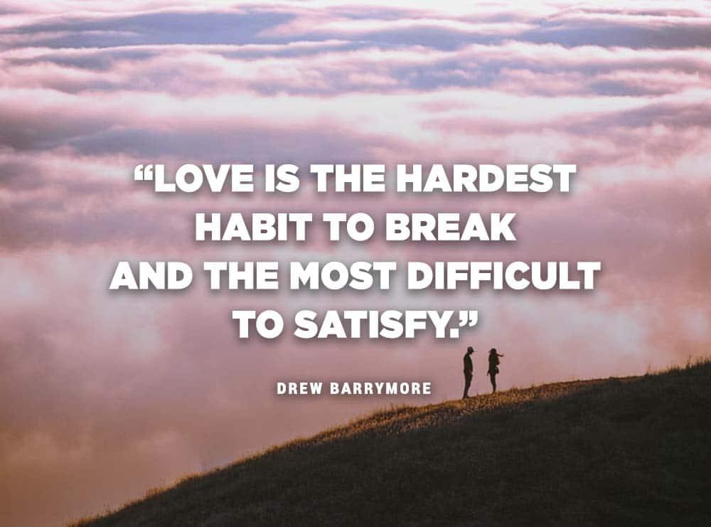 Citáty o láske (Drew Barrymore)